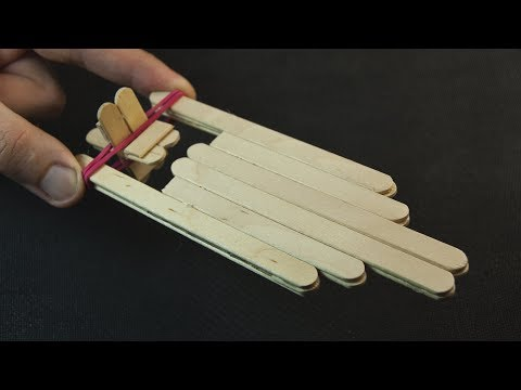 How to Make a Wooden Toy Boat using Popsicle Sticks