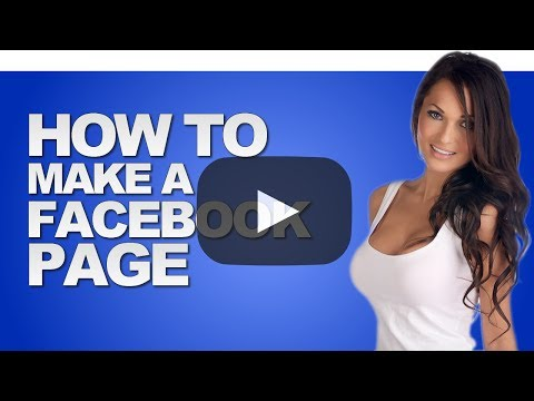 How To Make A Facebook Page