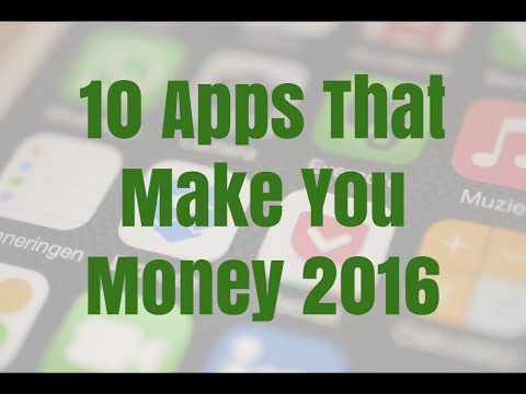10 Apps That Make You Money 2016