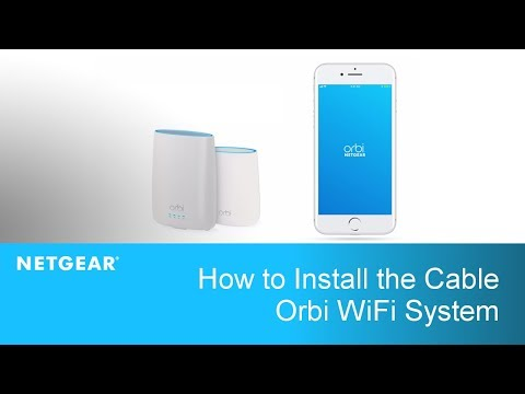 How to Install the Cable Orbi WiFi System