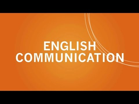 Learn English Communication Skills