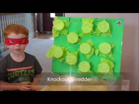 6 TMNT party games for young children