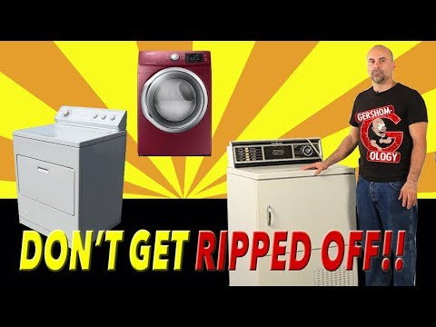 How To Buy a Used Dryer (& NOT GET RIPPED OFF!)