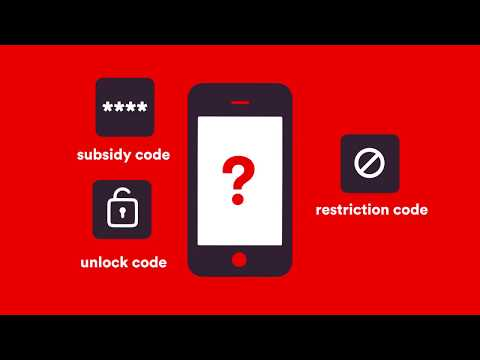 Virgin Mobile SIM swap - How to unlock code?