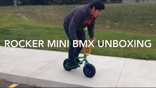 Rocker mini Bmx unboxing