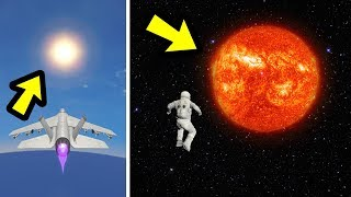 What Happens if You Fly into the Sun?