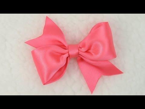 DIY Easy Simple Bow Tutorial, DIY, Hair Bow, Bow #7