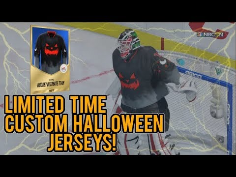 NHL 18 HUT | First Look at Limited-Time Custom Halloween Jerseys