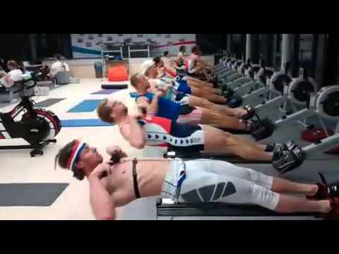 Dutch Rowing Erg Session