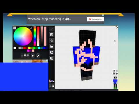 How to make a Minecraft 1.8 Skin (Easy!)