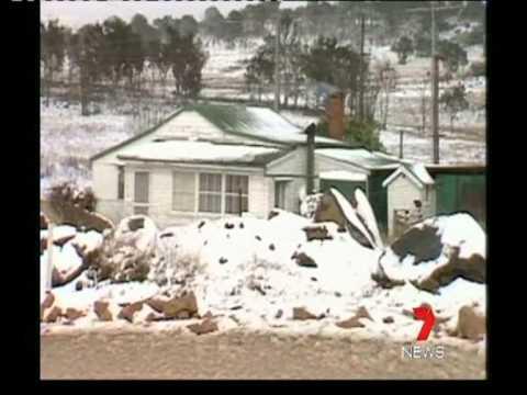 7 News Flashback - Stanthorpe snow 1984.