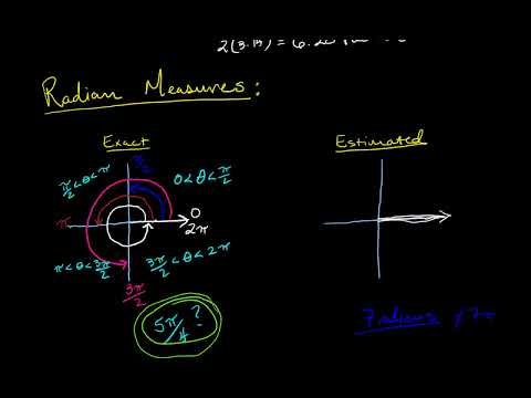 angle measures in radians