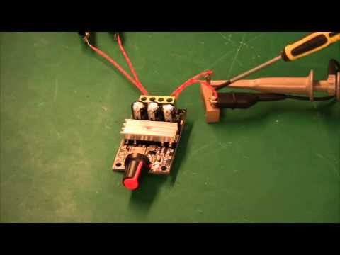 PWM and DC motor control theory