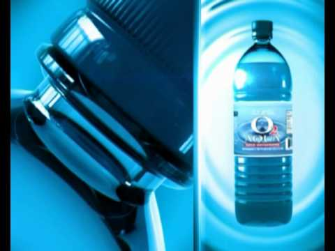 Oxygenated Water O2 Aqua