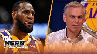 Only LeBron can save the NBA season, Colin reacts to 22-team proposal, July 31 start date | THE HERD