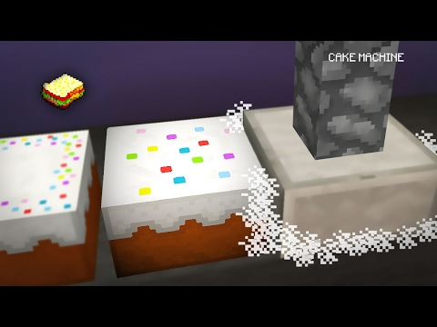 Minecraft | How to make a Cake Machine