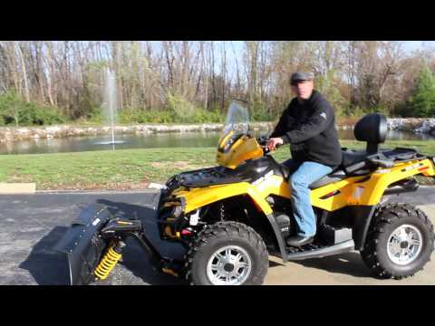 Can-Am ATV Snow Plow Overview