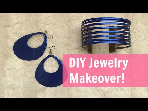 DIY Jewelry Upcycle Makeover!!! Free and easy!