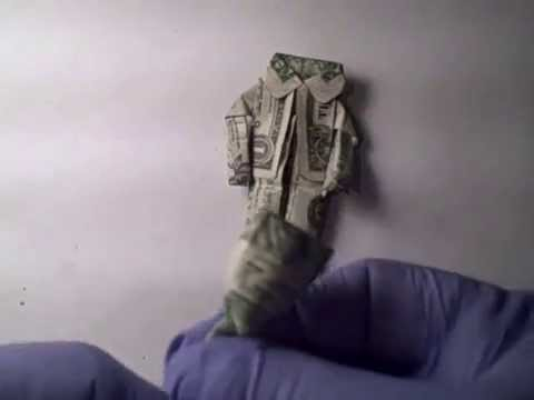 how to make a dollar man with jacket