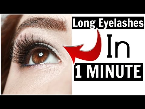 GET LONG LASHES IN 1 MINUTE ft. [Grace and Stella ]