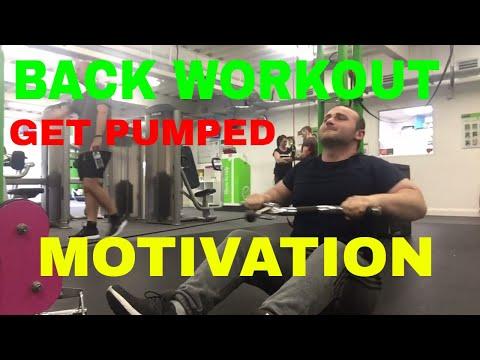Back Workout   Get Pumped Up   Motivation