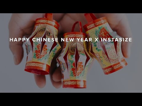 Happy Chinese New Year - Easy Red Lantern Tutorial