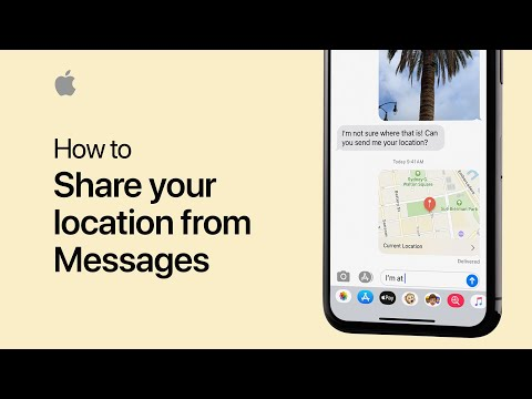 How to share your location from your iPhone — Apple Support