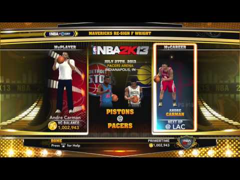 NBA 2k13 - 1 Million VC Pack Opening Live Stream Tomorrow!