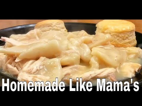 1.24.18 Making Chicken and Dumplings for Supper!
