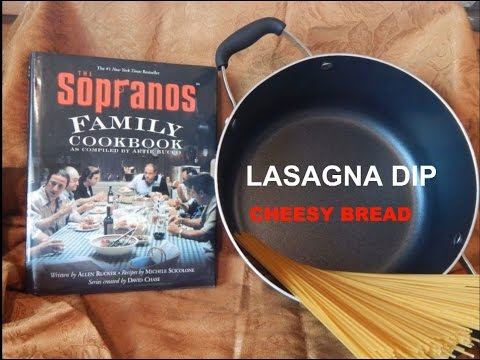 Lasagna Dip & Cheesy Bread