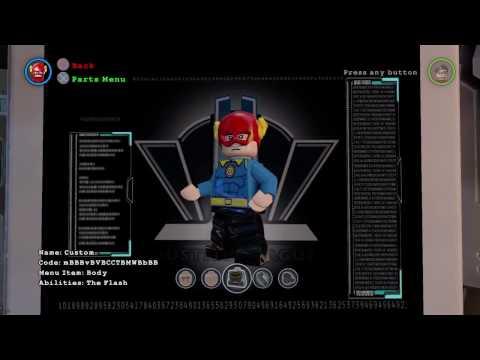 Lego batman 3 Quicksilver custom