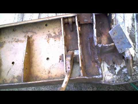 fabricating the skid steer mount plate assembly