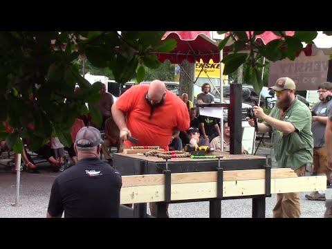 Sharpest Knife SPEED CONTEST at Atlanta Blade Show