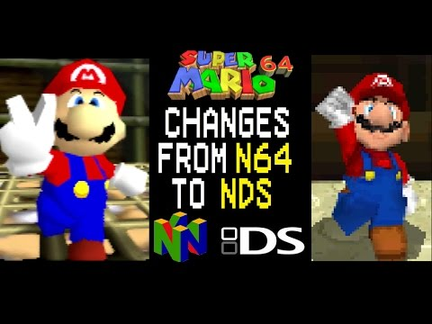 Super Mario 64: Changes from N64 to DS - Nintendo 64's 20th anniversary special
