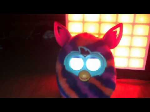 How to change furby BOOM