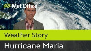 Hurricane Maria continues on its destructive path