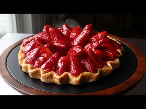 Fresh Strawberry Tart - Easy