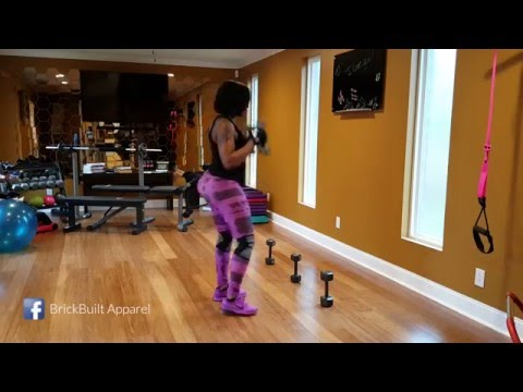 Buffie the Body's Xmas EVE Workout 2015 (Abs, arms and thighs)