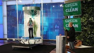 An Ellen Fan Wins Big and Gets Messy in 'Green or Clean'