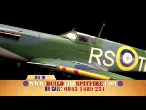 Beautiful 1:12 scale model Spitfire showcase video