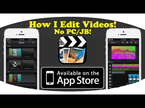 How To Edit Videos With Cute Cut Pro On iOS 10/9/8! NO PC/JB!