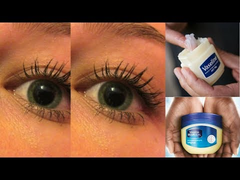 GROW LONG, THICK & HEALTHY EYELASHES WITH VASELINE IN JUST 7 DAYS