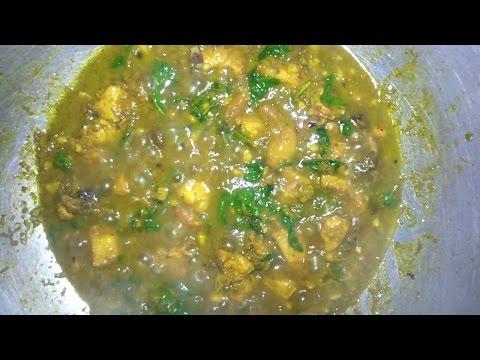 Khmer cuisine Home KH.Fry chicken dish Khmer ម្ហូបខ្មែរឆាគ្រឿងសាច់មាន់#14