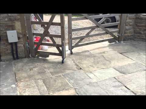 Sloping Drive Gate Wheel