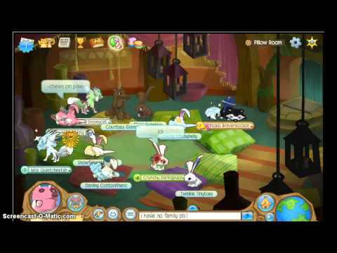 animal jam how to get adopted ( remake)