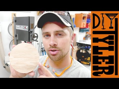 Cut PERFECT Circles with a Bandsaw Circle Cutting Jig