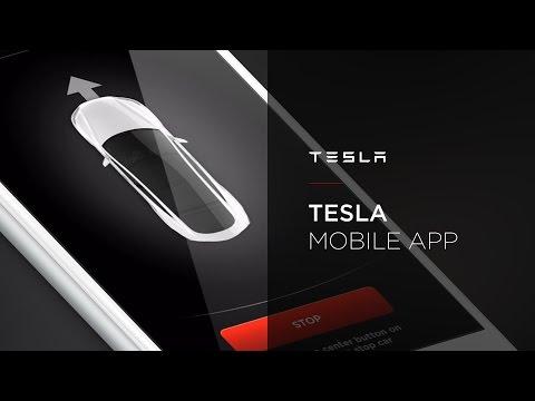 Tesla Mobile App Walkthrough