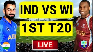 Live Score : India Vs West Indies 1st T20 Commentary | Live Ind vs wi 1st T20 2019