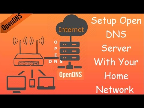 How to setup Open DNS Server with your home network/router