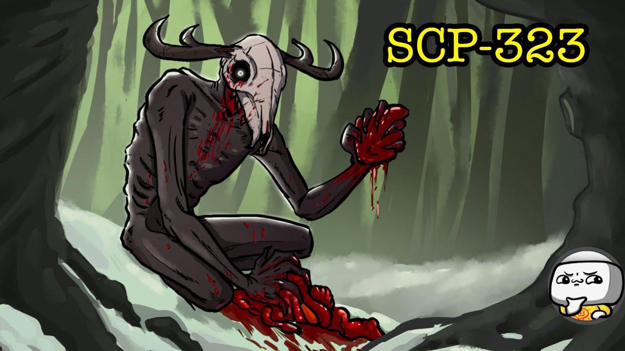 SCP-323 Wendigo Skull (SCP Animation)